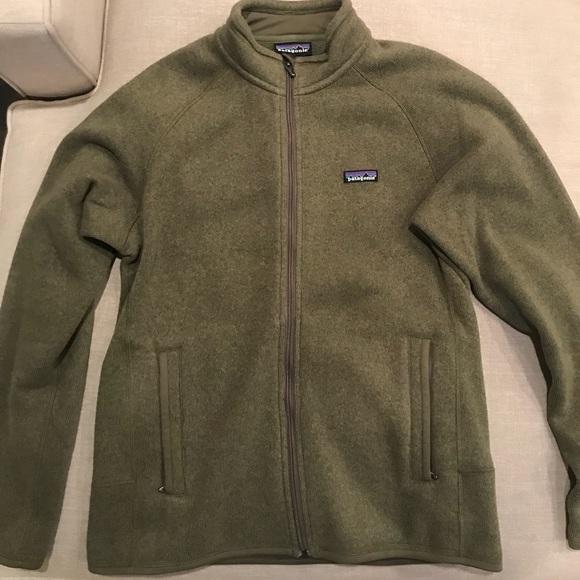 036c6a0f415c Patagonia Men s Better Sweater Jacket in Green. M 5a483d64077b979ecc180032